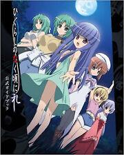 ART BOOK HIGURASHI NO NAKU KORONI character Higurashi When They Cry Rei