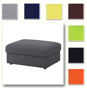 Beau Image Is Loading Custom Made Cover Fits IKEA Vimle Footstool With