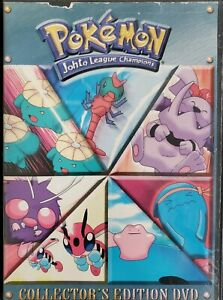 Pokemon-Distance-to-the-Johto-League-Champion-Season-4-Vol-3-DVD-Rare-OOP
