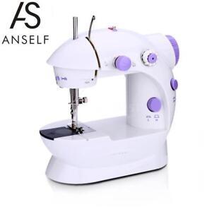 Anself Мини Электрическая Швейная Машина с 2 Speed Adjustment AC100-240V Q6Q8