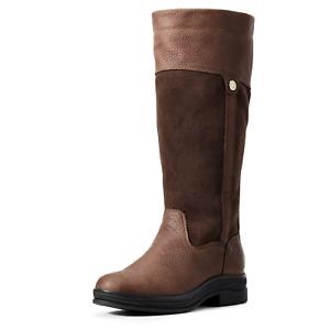 Ariat Windermere II para mujer botas H20-Marrón Oscuro
