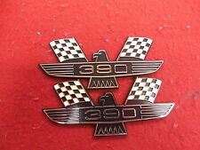 2 390 EMBLEMS ORNAMENTS FORD MERCURY MUSTANG FAIRLANE TRUCK 62 63 64 67 68