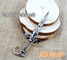 World of Warcraft Cataclysm Game Keyring Accessories Character Weapon Figures 11