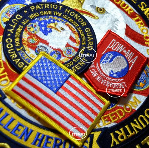 """HOG BIKER 12/"""" EAGLE for FALLEN HEROES FREEDOM DEFENDER US EAGLE LARGE PATCH"""