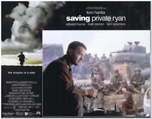 Saving Private Ryan 1998 Original 11x14 Lobby Card D Great Of Tom Hanks Ebay