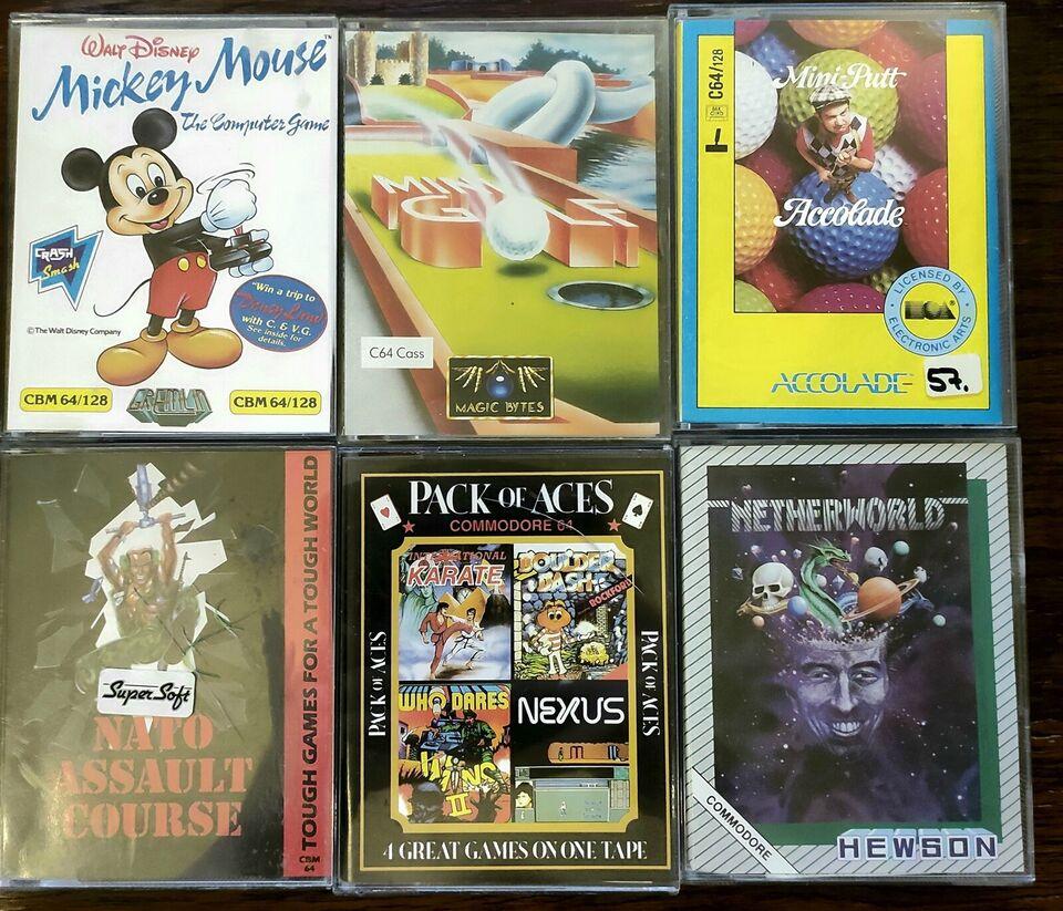 Originale spil til Commodore 64, Commodore 64