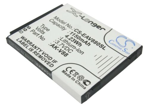Nueva batería para emporia conectar V88 v88_001 ak-v88 Li-ion Reino Unido Stock