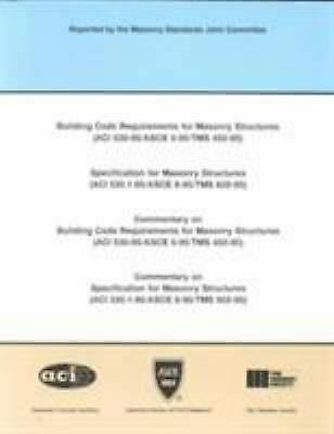 Building Code Requirements for Masonry Structures