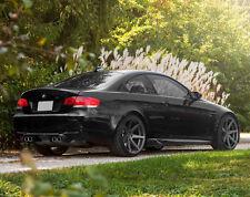 20x10 +25 20x11 +28 Rohana RC7 5x120 Matte Graphite Wheels Set For BMW E92 M3