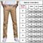 Men/'s Chino Casual Solid Long Pants Smart Business Office Work Straight Trousers