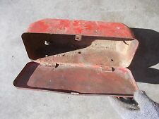 Vintage Case Allis Chalmers Tractor Tool Box With Lid