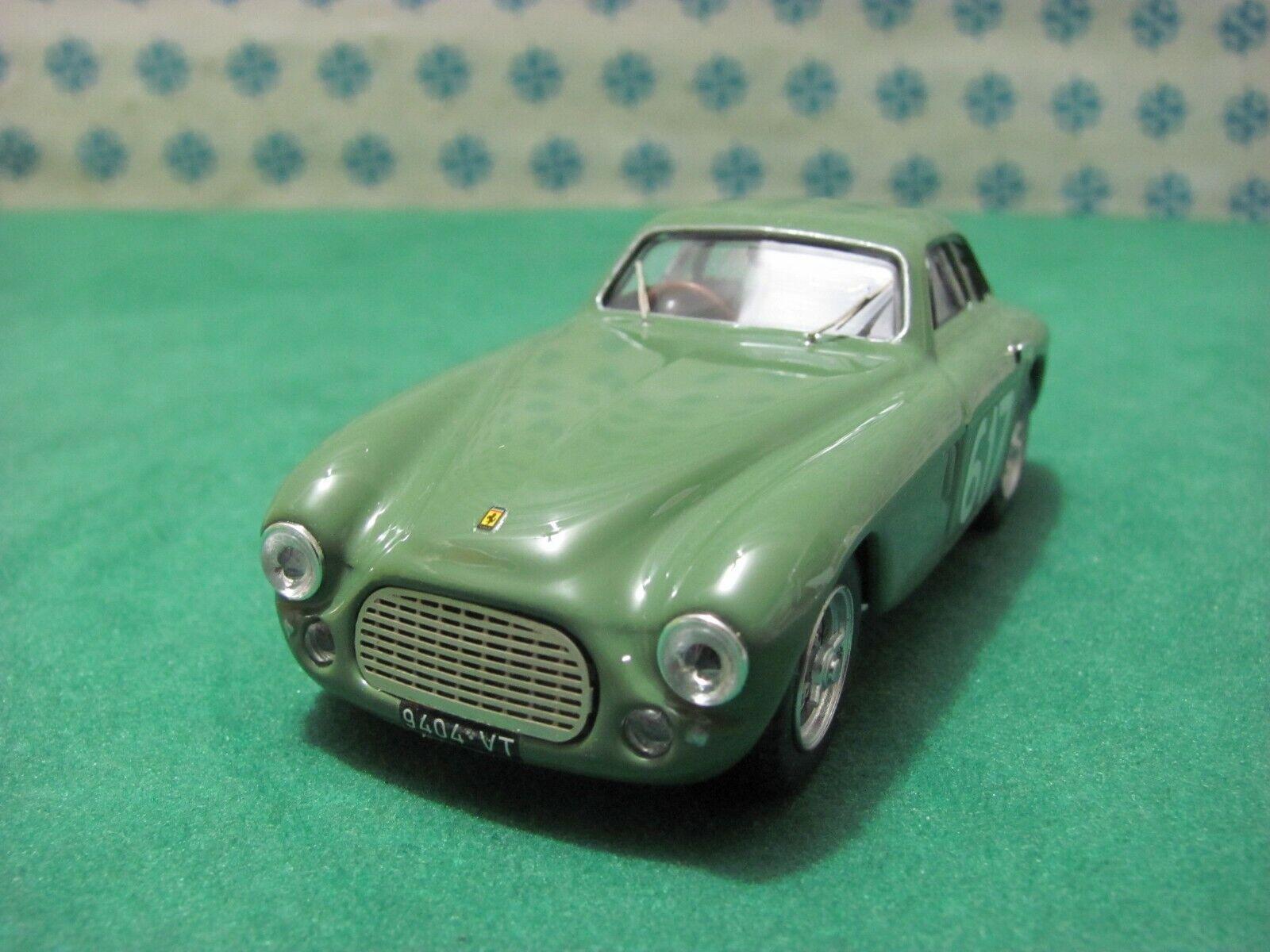 FERRARI 212  Export Berlinetta 2600cc.  Mille Miglia 1953  - 1 43 Art Model 324