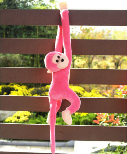 60cm Hanging Cute Long Arm Monkey Plush Baby Toys Animals Soft Doll Kids Gift
