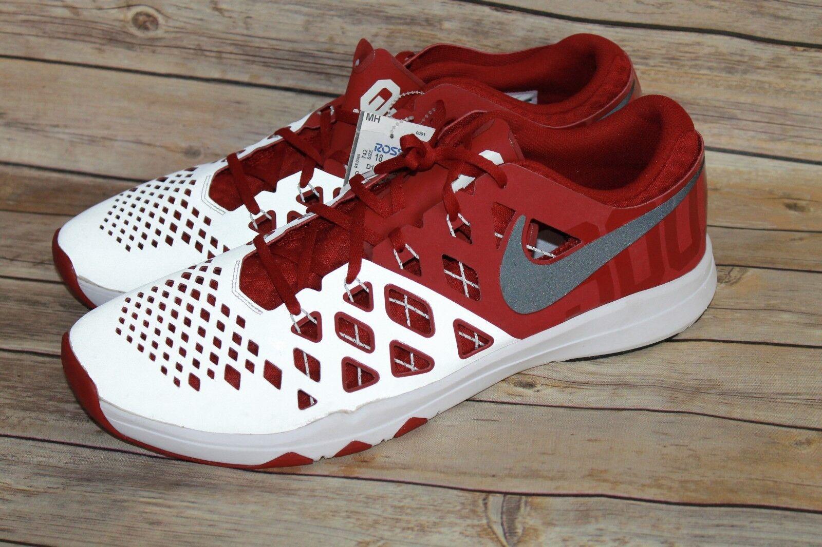 Nike Train Speed 4 AMP OU Oklahoma Sooners FOOTBALL Men's Comfortable