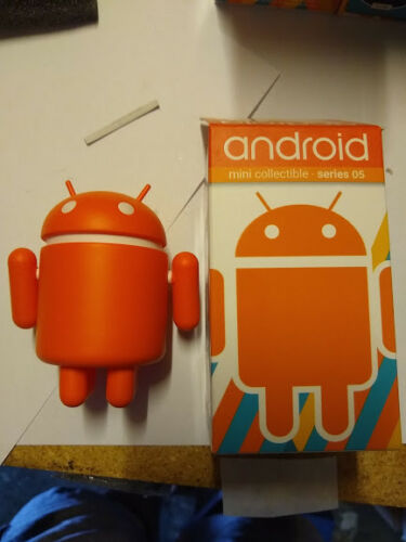 Series 05 Orange by Google Android Mini Collectible Figure