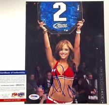 BRITTNEY PALMER Autograph Signed 8x10 Photo PSA/DNA COA Auto   UFC Octagon Girl