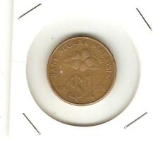 Offer>Malaysia Kris $1  coin 1st series 1989  very nice!