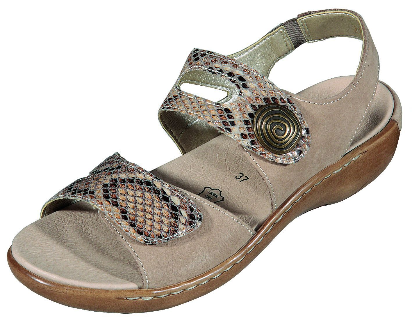 Remonte Schuhe Damen Sandale  mit herausnehmbare Innensohle, Übergröße +++NEU+++