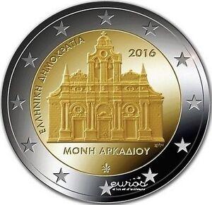 2-euros-commemorative-Grece-2016-034-Monastere-d-039-Arkadi-034-742-500-exemplaire-UNC