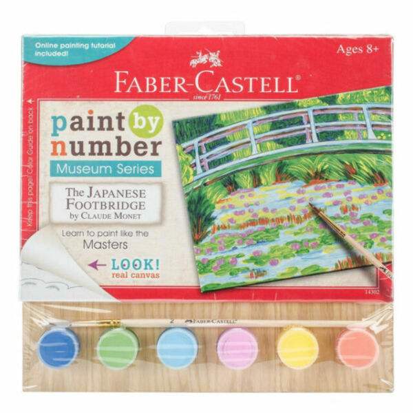 faber-castell museum series paintnumber kit - 510145