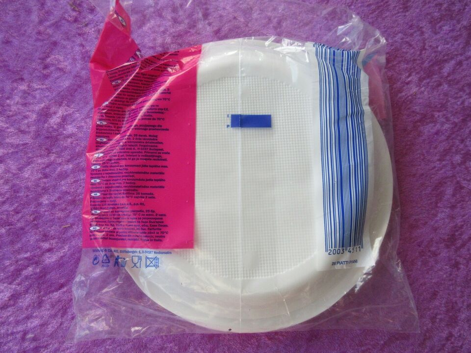 Plastiktallerkener