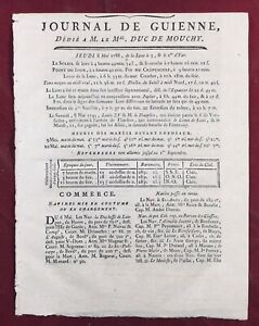 Vignoble-Bordelais-1788-Bordeaux-Villenave-Begles-Blanquefort-Gironde-Journal