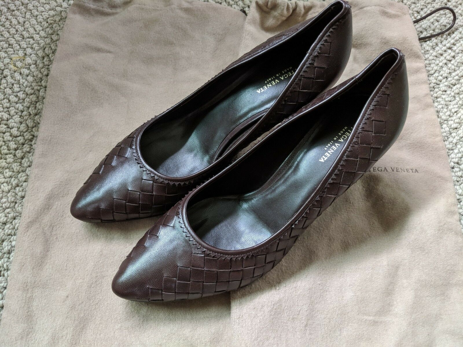 Classic Bottega Veneta Pointed Pointed Pointed Toe Heels 77f23c