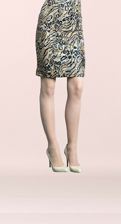 Clara Sunwoo Animal Print Knit Pencil Skirt