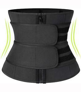 Women waist trainer sauna belt