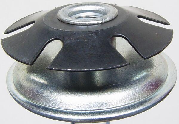 """3//4/"""" OD round tube 20 pcs 5//16/"""" 18 Oajen metal threaded star type insert"""