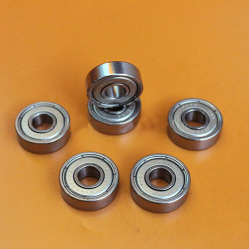 2pcs NMB Imported Mini Bearings R-2280 608ZZ Size 8*22*7mm For Skateboard