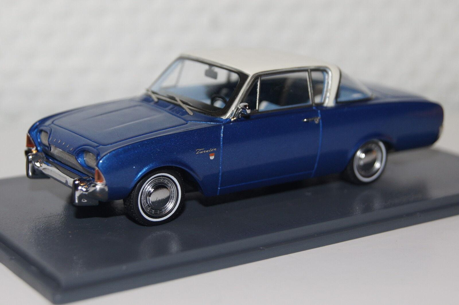 Ford Taunus 17M P3 Coupe blau-weiß1 43 Neo neu & OVP 46200