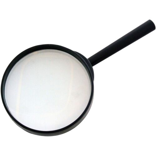 "Grande loupe loupes 4/"" 3X Objectif Verre optique 100 mm NEUF"