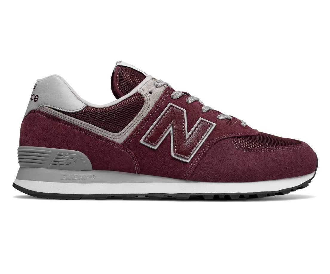 New Balance ML 574 EGB Herren Sneaker Turnschuhe Freizeit bordeux