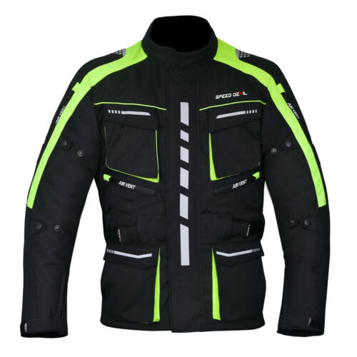 Speed Devil Tourer Moto Veste Textile Veste Season Speed Devil Taille 2xl