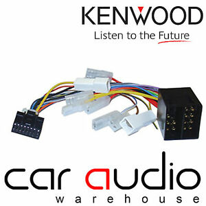 Details about Kenwood 16 Pin ISO Power Wiring Harness for KVT Hide on