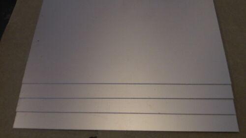 8 x 12 4 pcs .060 Double Sided FR-4 Copper Clad Laminate Board PCB 1 oz
