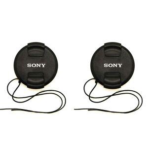 2X Sony 49 mm Lente Tapa Cubierta Para Sony RX1R NEX-7 Sel 50 mm 18-55 mm e 55-210 Mm Lente