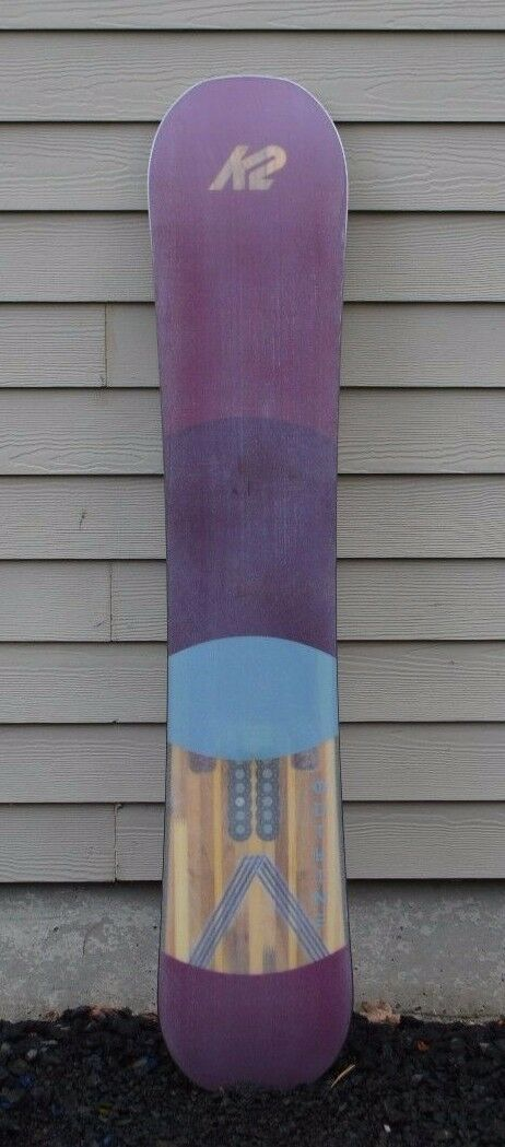 2018 WOMENS K2 OUTLINE 149 SNOWBOARD  550  149 CM directional twin used plum  outlet on sale