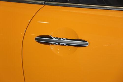 For MINI Cooper F56 F55 F57 F58 Black Jack UK Flag Car Door Side Handle Covers