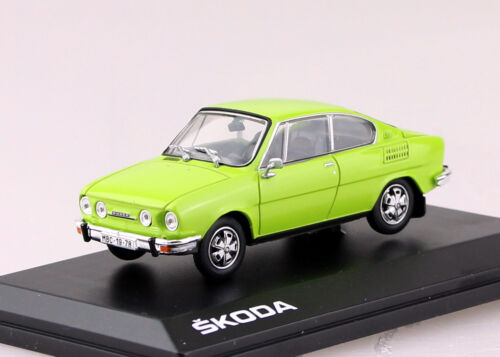 Skoda 110R hellgrün 1978 1:43 Abrex Modellauto ABS707QD