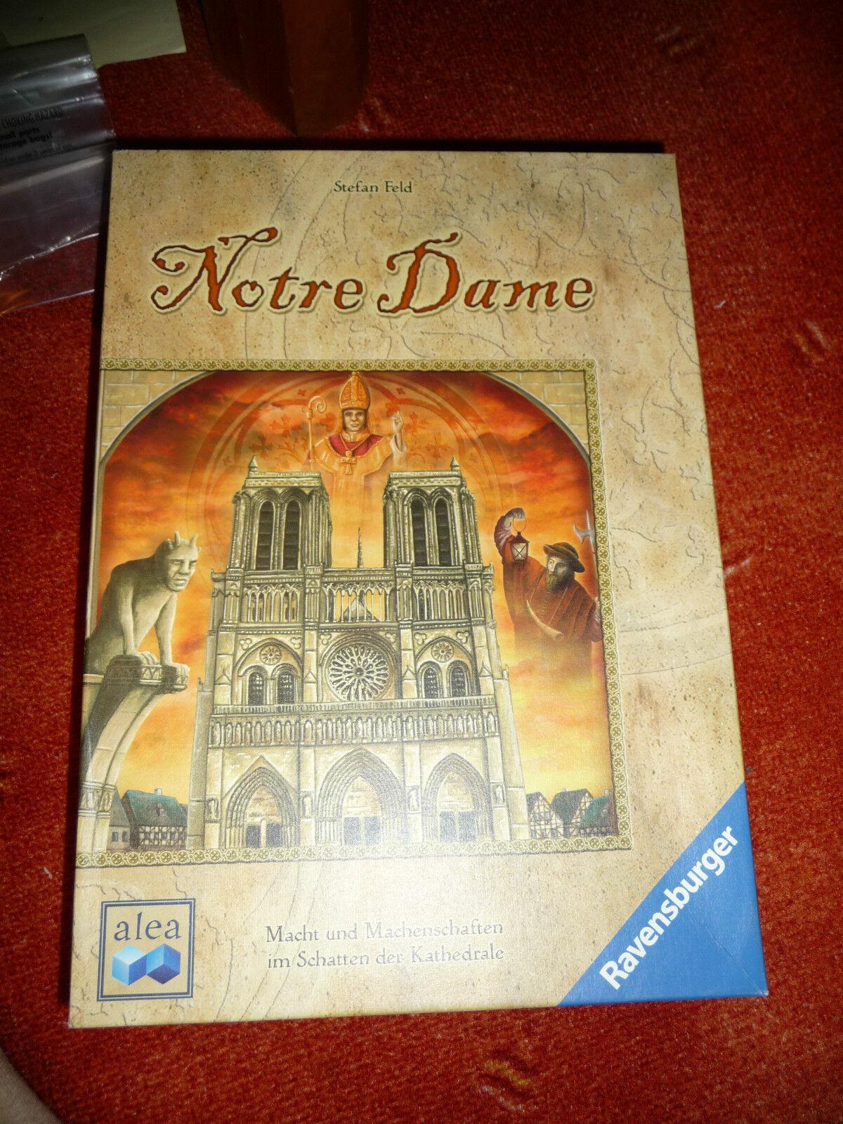 Notre Dame Spiel   Brettspiel  Strategie - Stefan Feld - Ravensburger