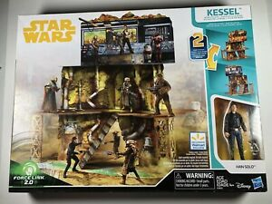 Han-Solo-A-Star-Wars-Story-Force-Link-2-0-Kessel-Mine-Escape-Exclusive-Play-NEW