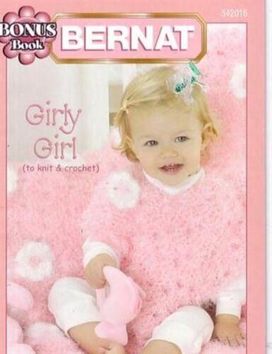 Nuevo Bernat Girly Girl A Tejer Y Crochet 4 Diseños