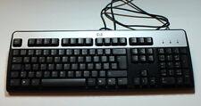 04-15-00637 Tastatur HP KB-0316 black PS/2 Keyboard 352750-041 055630-041
