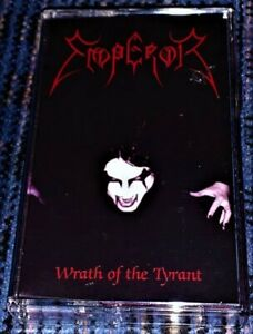EMPEROR-Wrath-Of-The-Tyrant-Mint-Cassette-Tape-Rare-Plays-Well-Black-Metal