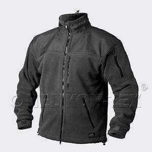 Helikon Tex Classic Fleece Outdoor Veste Jacket Black Noir 2xl/xxlarge-afficher Le Titre D'origine