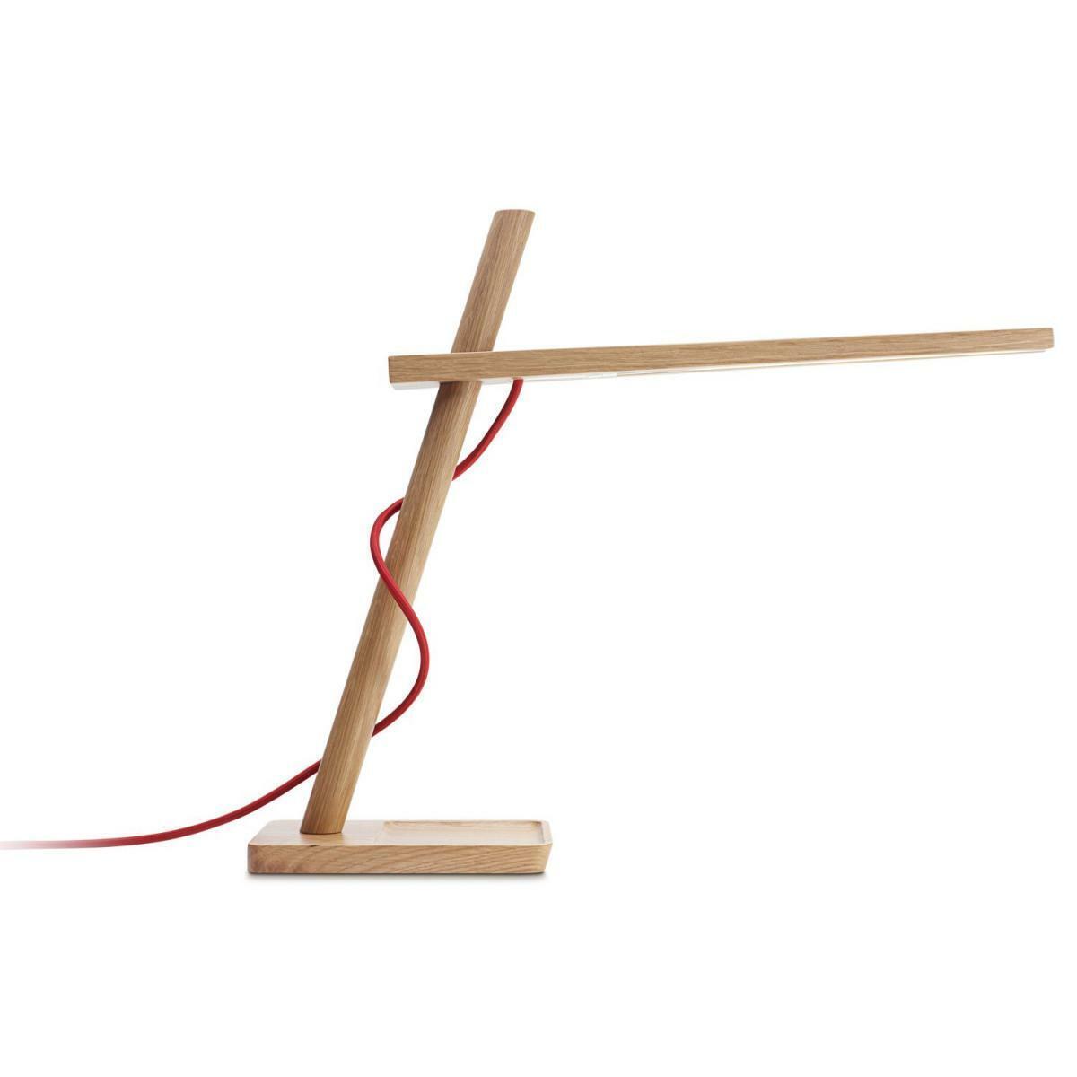 Pablo Design Clamp Mini Eiche LED Tischleuchte - EEK  A+ - Neu - Original