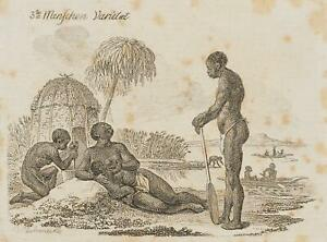 """Chodowiecki (1726-1801). la aethiopische """"persone-varietà""""; pressione grafico 2"""