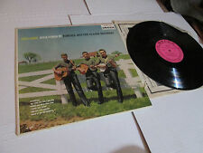 This Land: Folk Songs By Tompall & The Glaser Bros LP SCARCE PINK LABEL PROMO EX